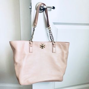 Pale Pink Tory Burch Tote
